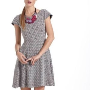 Anthro Maeve Fit & Flare Dress Small